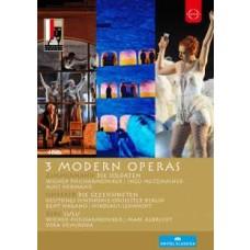3 Modern Operas: Die Solaten (2012) / Die Gezeichneten (2005) / Lulu (2011) [4DVD]