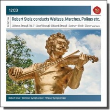 Robert Stolz Conducts Waltzes, Marches, Polkas  [12CD]