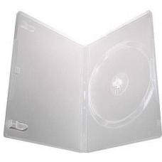 1DVD karp, läbipaistva sisuga, A-klass 14mm (5 karpi)