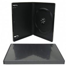 1DVD karp, musta sisuga, A-klass 14mm (5 karpi)