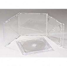 2CD karp, läbipaistva sisuga, A-klass (5 karpi)
