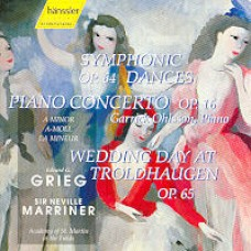 Symphonic Dances, Piano Concerto, Wedding Day At Troldhaugen [CD]