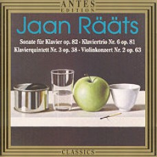 Sonate für Klavier op. 82, Klaviertrio Nr. 6 op. 81, Klavierquintet Nr. 3 op. 38, Violinkonzert Nr. 2 op. 63 [CD]