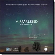 Virmalised: Eesti klaverimuusika läbi sajandi | Northern Lights: Treasury of Estonain Piano Music [4CD]