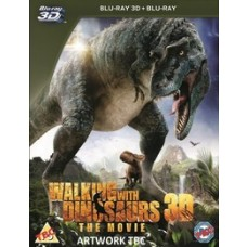 Dinosauruste radadel / Walking with Dinosaurs [2D+3D Blu-ray]