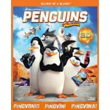 Madagaskari pingviinid / Penguins of Madagascar [2D+3D Blu-ray]