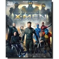 X-Mehed: Tulevase möödaniku päevad | X-Men: Days of Future Past [2D+3D Blu-ray]