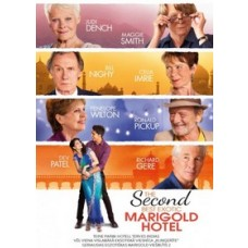 Teine parim hotell terves Indias / The Second Best Exotic Marigold Hotel [DVD]