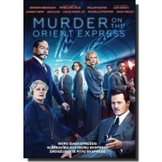 Mõrv Idaekspressis / Murder on the Orient Express [DVD]