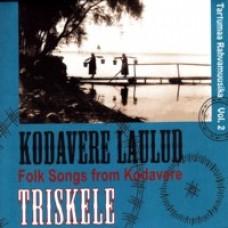 Tartumaa rahvamuusika Vol. 2: Kodavere laulud [CD]