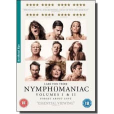 Nymphomaniac Volumes I & II [2x DVD]