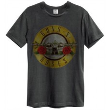 Drum (Bullet) Amplified Vintage Charcoal Small T Shirt