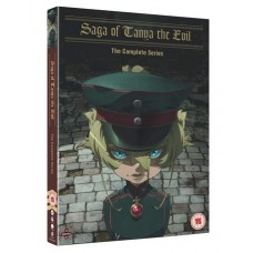 Saga of Tanya The Evil: The Complete Series [2DVD]