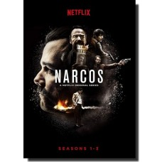 Narcos: The Complete Seasons 1-3 [10x DVD]