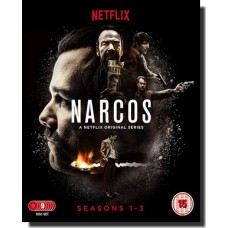 Narcos: The Complete Seasons 1-3 [9x Blu-ray]