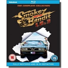 Smokey and the Bandit 1, 2 & 3 [3x Blu-ray]