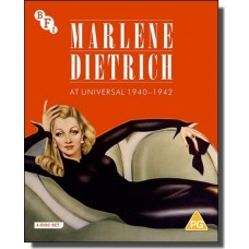 Marlene Dietrich at Universal 1940-1942: Seven Sinners, The Flame of New Orleans, The Spoilers & Pittsburgh [4x Blu-ray]