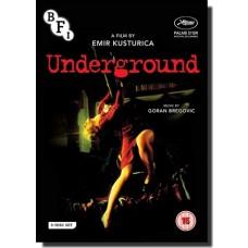 Underground [3DVD]