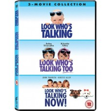 Look Who's Talking + Look Who's Talking Too + Look Who's Talking Now! [3DVD]