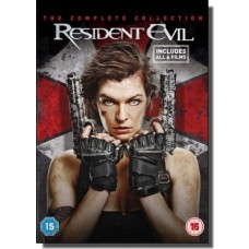 Resident Evil: The Complete Collection [6x DVD]