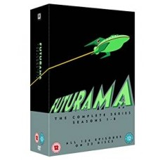Futurama - The Complete Series: Seasons 1-8 [23DVD]