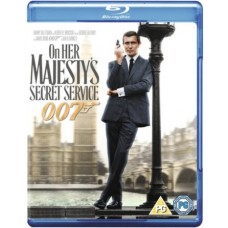 James Bond - On Her Majesty's Secret Service [Blu-ray]
