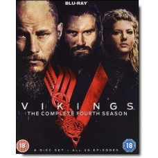 Vikings: Complete Season 4 [6Blu-Ray]