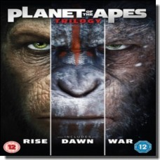 Planet of the Apes Trilogy [3DVD]