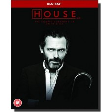 House M.D.: The Complete Seasons 1-8 [39x Blu-ray]