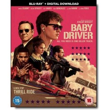 Baby Driver [Blu-ray+DL]
