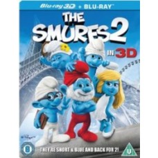 Smurfid 2 | The Smurfs 2 [2D+3D Blu-ray]