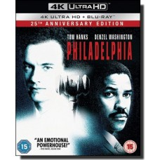 Philadelphia [25th Anniversary Edition] [4K UHD+Blu-ray]