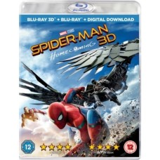 Spider-Man: Homecoming [2D+3D Blu-ray+DL]