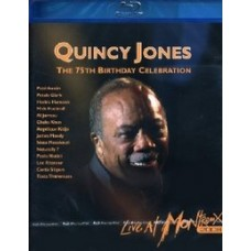 Quincy Jones 75th Birthday Celebration Live at Montreux 2008 [Blu-ray]