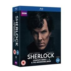 Sherlock: Complete Series 1-4 & The Abominable Bride [10xBlu-ray]