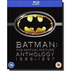 Batman: The Motion Picture Anthology [4x Blu-ray]