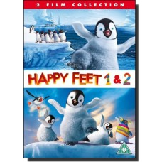 Happy Feet + Happy Feet Two [2DVD]