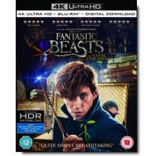 Fantastic Beasts and Where to Find Them [4K UHD+Blu-ray+DL]