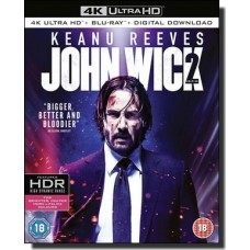 John Wick 2 [4K UHD+Blu-ray+DL]