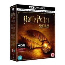 Harry Potter - Complete 8-Film Collection [8x 4K UHD+ 8x Blu-ray+ DL]