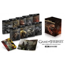 Game of Thrones: Seasons 1-8 [33 Disc Box] [4K UHD+ Blu-ray]