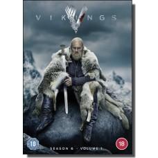 Vikings: Season 6 - Volume 1 [3x DVD]