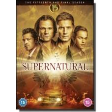 Supernatural: Season 15 [5x DVD]