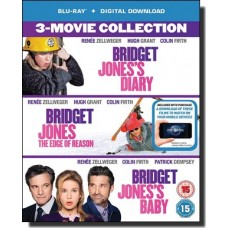 Bridget Jones 3-Movie Collection: Bridget Jones's Diary | Bridget Jones: The Edge Of Reason | Bridget Jones's Baby [3Blu-ray+DL]