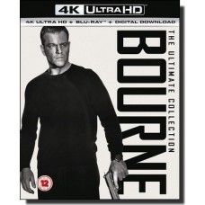 Bourne: The Ultimate 5-movie Collection  [10x 4K UHD+Blu-ray]