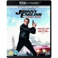 Johnny English Strikes Again [4K UHD+Blu-ray]