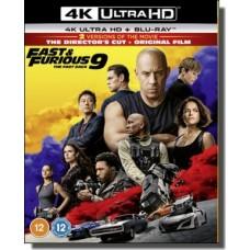 Fast & Furious 9 - The Fast Saga [4K Ultra HD + Blu-ray]