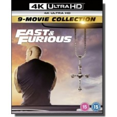 Fast & Furious: 9-movie Collection [9x 4K Ultra HD]