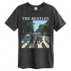 Abbey Road Amplified Vintage Charcoal X Large T Shirt