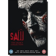 Saw: The Legacy Collection [8x DVD]